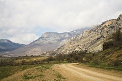 Caminos de la montaña Imagen de archivo libre de regalías