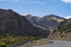 Caminos de Utah Foto de archivo