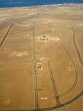Caminos del desierto Imagen de archivo libre de regalías