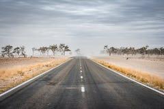 Caminos del interior en Nuevo Gales del Sur, Australia imágenes de archivo libres de regalías