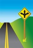 Caminos divergentes libre illustration
