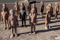 Caminos en Fuerteventura imagen de archivo libre de regalías