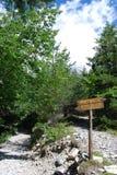Caminos en montaña Foto de archivo