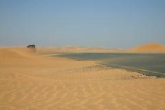 Caminos en Namibia Imágenes de archivo libres de regalías