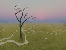 Caminos que vagan libre illustration