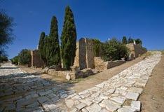 Caminos romanos Fotos de archivo