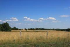Caminos traseros de Ohio fotografía de archivo libre de regalías
