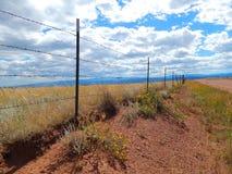 Caminos traseros en la montaña roja Colorado fotos de archivo
