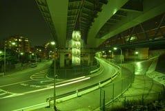 Caminos urbanos Fotografía de archivo