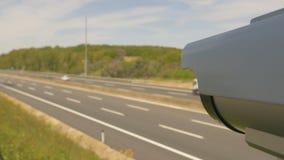 Caminos y vigilancia de las carreteras almacen de video