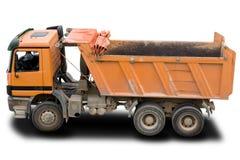 Camion à benne basculante Images stock