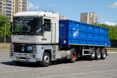 Camion à benne basculante agricole Photo stock