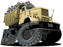 Camion à benne basculante de dessin animé de vecteur Photo libre de droits