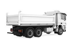 Camion à benne basculante de verseur d'isolement illustration stock