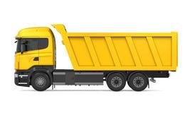 Camion à benne basculante de verseur d'isolement illustration libre de droits