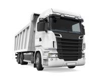 Camion à benne basculante de verseur d'isolement Image libre de droits