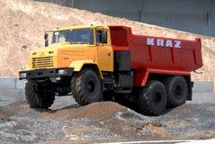 Camion à benne basculante lourd Images stock