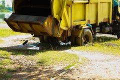 Camion à ordures Images stock