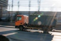 Camion à ordures photographie stock