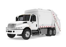 Camion à ordures d'isolement illustration de vecteur