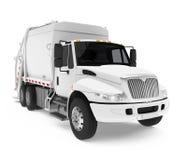 Camion à ordures d'isolement illustration libre de droits