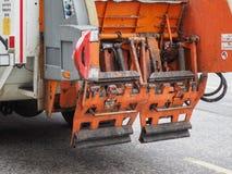 Camion à ordures pour la collection d'ordures photos stock