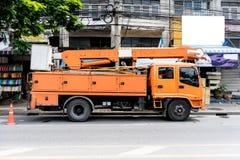 camion électrique de services de maintenance Photos stock
