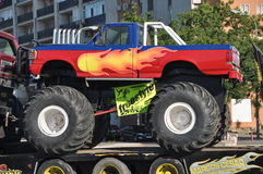 Camion 4x4 del mostro Fotografia Stock