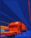 Camion 7 Image stock