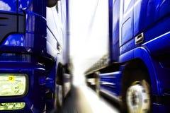 Camion Fotografie Stock