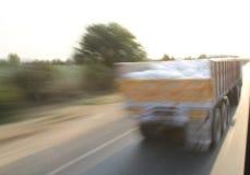 Camion ad alta velocità Fotografia Stock Libera da Diritti