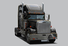 camion américain Photo libre de droits
