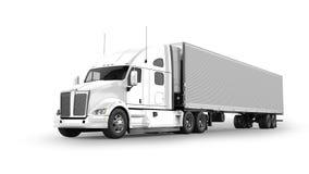 Camion américain de cargaison illustration stock