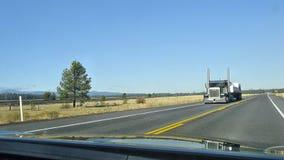 Camion americani Immagini Stock