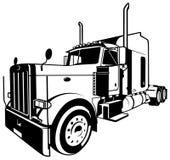 Camion americano illustrazione vettoriale