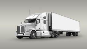 Camion americano del carico Fotografia Stock Libera da Diritti