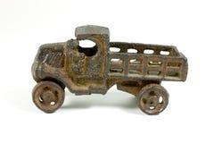 Camion antico del giocattolo del metallo Fotografia Stock Libera da Diritti
