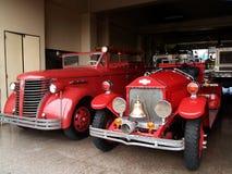 Camion antique de sapeurs-pompiers Photographie stock libre de droits