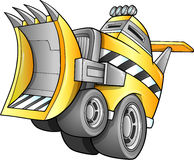 Camion apocalyptique de bouteur Image stock