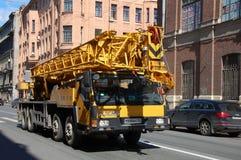 Camion avec un ascenseur Images stock