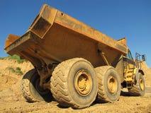 camion à benne basculante Photo stock