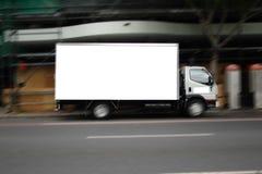 Camion in bianco Fotografia Stock Libera da Diritti