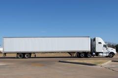 Camion in bianco Immagini Stock Libere da Diritti