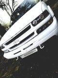 Camion bianco di Chevy immagine stock libera da diritti