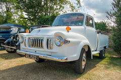 Camion blanc de Bedford TJ Images stock