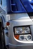 Camion bleu Photo libre de droits