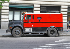 Camion blindé Photos stock