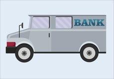 Camion blindé Les opérations bancaires, transport des objets de valeur, collection entretiennent l'élément de conception de l'ava Photographie stock libre de droits