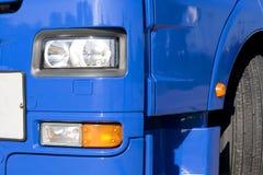 Camion blu, Fotografie Stock