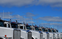 Camion brandnew Fotografie Stock Libere da Diritti